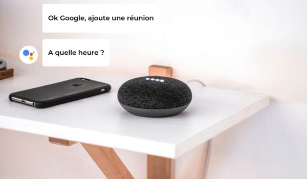 Google Home et vente à domicile, l'assistant virtuel du VDI